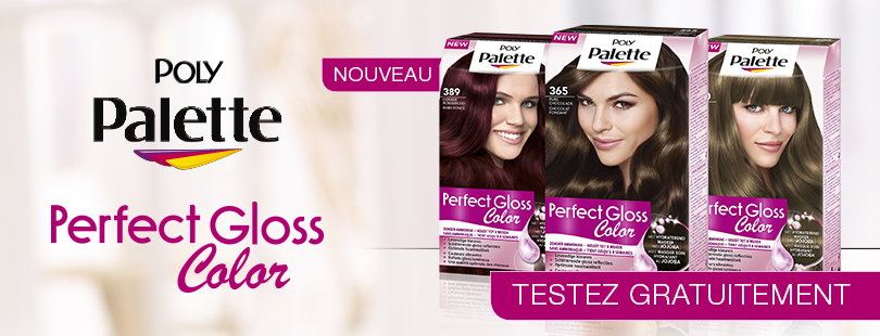 palette perfect gloss cest la nouvelle coloration semi permanente sans ammoniaque - Coloration Sans Ammoniaque Schwarzkopf